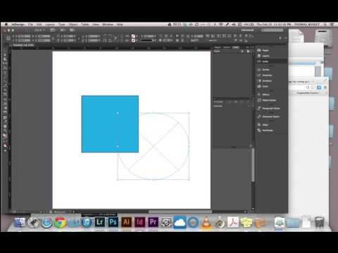 InDesign: Blending Modes and Transparency
