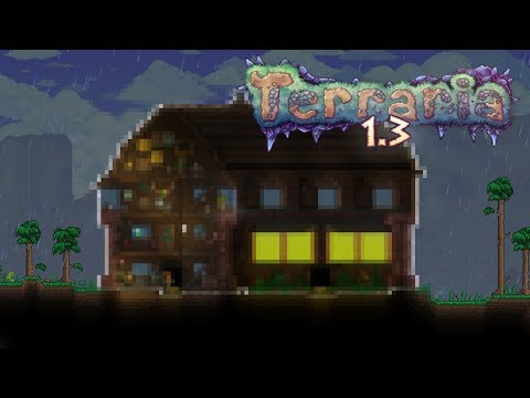 Terraria speedbuild: Woodland Villa