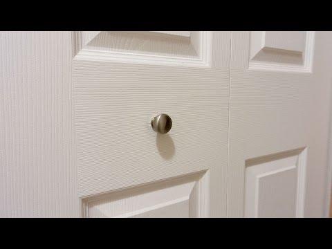 Keep Bifold Closet Door Knobs from Loosening