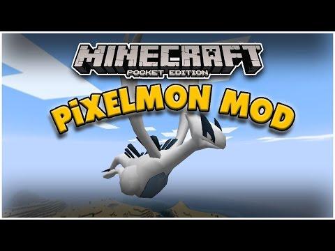 PIXELMON! Minecraft PE: Mod Showcase [Pokecube]