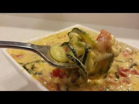 Zucchini Macaroni and Cheese Actifry