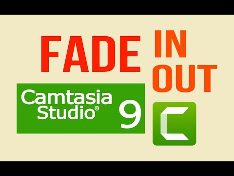 Add Fade in and Fade out effects - Camtasia Studio 9