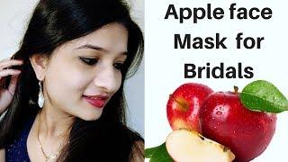 Apple face mask for skin whitening in Hindi   DIY Face mask for glowing skin   Skin care   AVNI