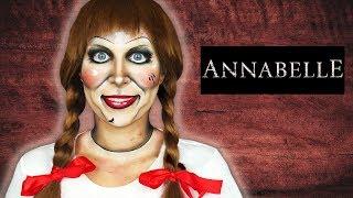 ♦ Lalka Annabelle - Makijaż na Halloween ♦ Agnieszka Grzelak Beauty