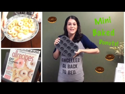 Mini Baked Donuts 🍩