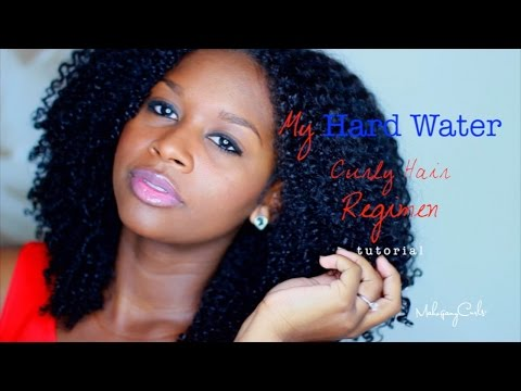 My Hard Water Curly Hair Regimen TUTORIAL
