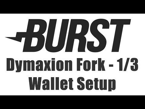 Burstcoin Fork - Wallet Upgrade & Setup For Dymaxion Fork At 500,000