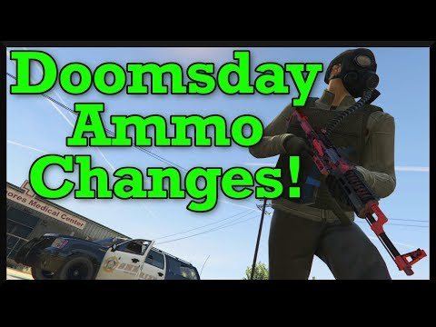 GTA Online: Doomsday Heist Weapon Changes (Explosive Rounds Nerfed, AP & HP Ammo Buff & More!)