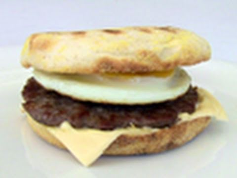 Sausage and Egg Muffin Breakfast Recipe