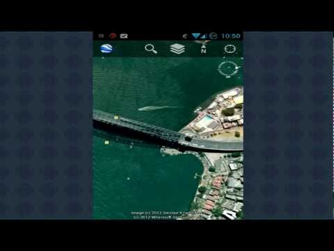 TDV uses Google Earth for Android