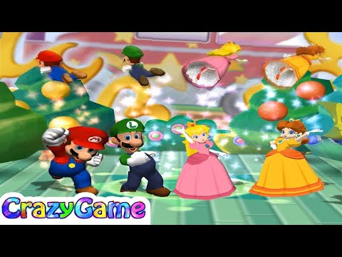 Mario Party 6 All Free-For-All Minigames Gameplay | CRAZYGAMINGHUB