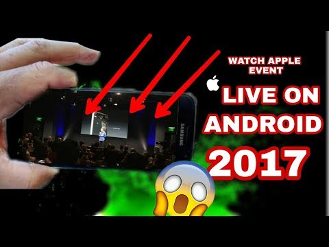 {APPLE EVENT LIVE ON ANDROID}|Iphone X,Keynote|LIVE STREAMING OF IPHONE 8 12SEP 2017|Apple Event|
