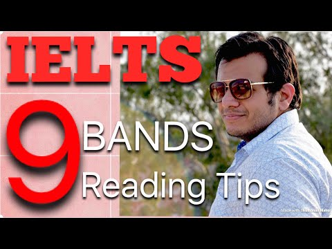 IELTS Reading:- Top Tips to Score 9 Bands in Reading Academic   General Training