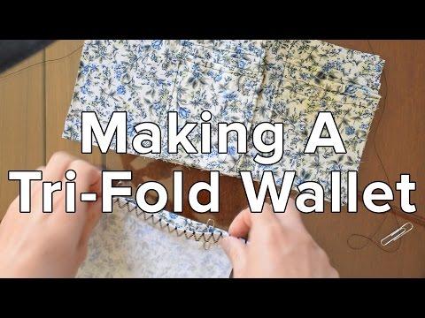 Making A Tri-Fold Wallet