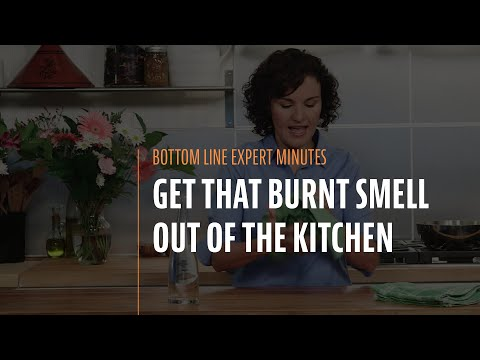Get That Burnt Smell Out of the Kitchen