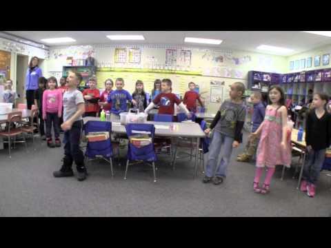 Math & Movement in First Grade - Part 2