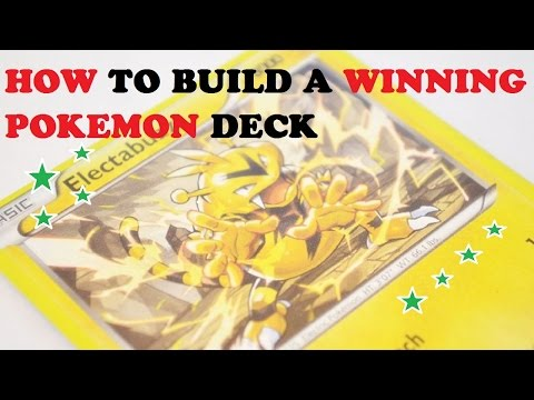 How to Build a Winning Pokemon Deck