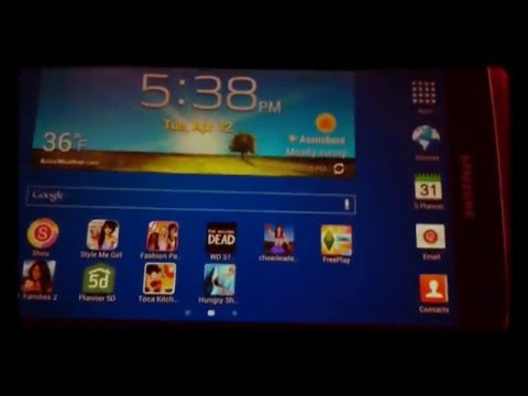 How to download an app on samsung galaxy tablet.