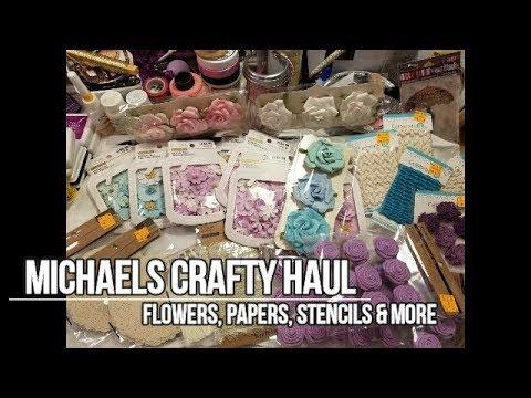 Michaels Crafty Haul
