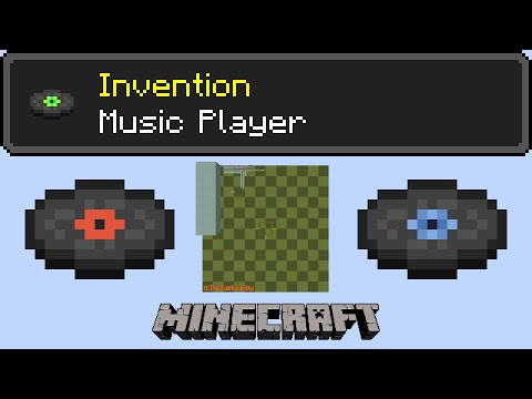 Minecraft Music Player - Store and play songs off of items