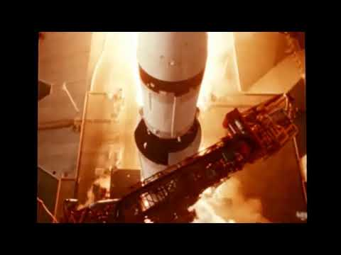 Classic Space Video: Flight of Apollo Saturn V