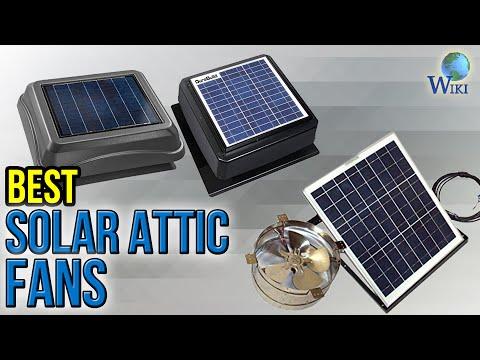 6 Best Solar Attic Fans 2017