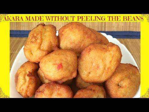 How to Make Nigerian Akara | Fast & Easy Akara Made Without Peeling the Beans | Nigerian Street Food