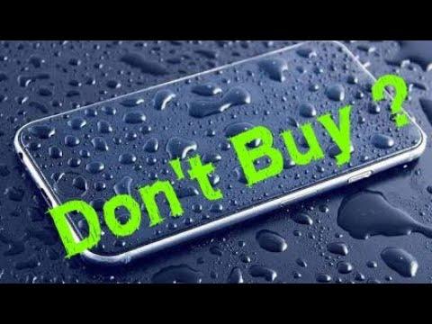 Don't buy waterproof or water resistant Phone ?