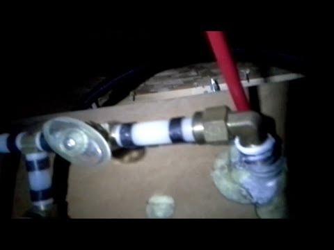 How to remove broken plastic PVC pipe.