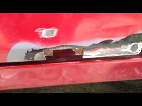 Fixing door RUST (Jeep Cherokee)