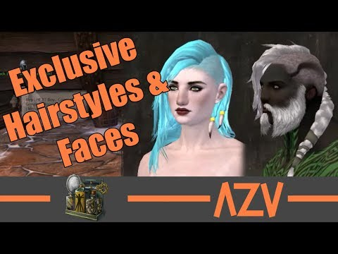 GW2: 🔥 All exclusive Norn hairstyles and faces 🔥