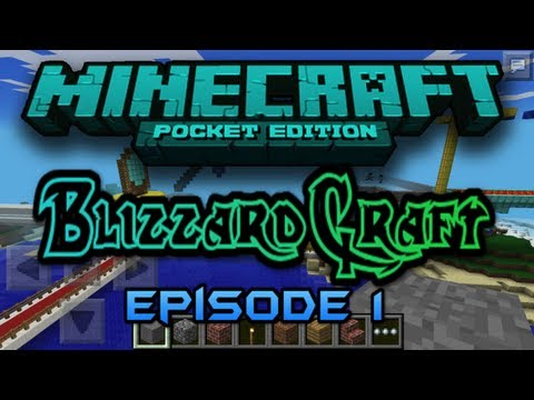 BlizzCraft Realms Ep.1 w/ AceCraftGaming & Others - Minecraft PE