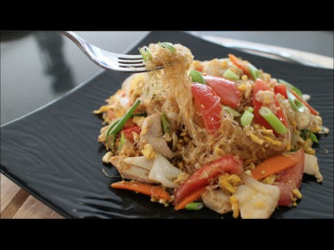 Glass Noodle Stir-Fry Recipe
