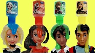 ELENA OF AVALOR Bath Time Fun with Frozen Finger Paint & Soap