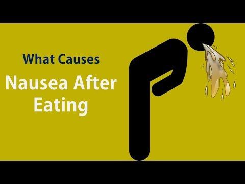 What Causes Nausea After Eating|Acidity reflux &  Panic and anxiety