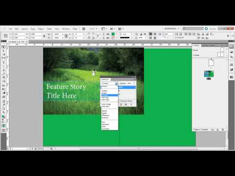 Working with Shapes in Adobe InDesign