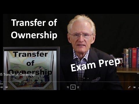 35 Transfer of Ownership: Arizona Real Estate License Exam Prep