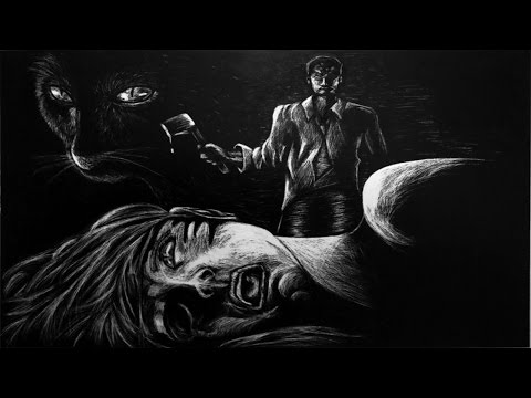 THE BLACK CAT Edgar Allan Poe | Feat. Barry Bowman | Halloween Scary Stories | Classic Horror