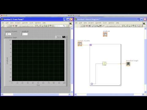 Sine Wave Graph in Labview.mp4