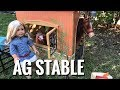 American Girl Doll Horse Stable NEW