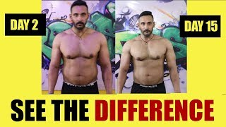 See the difference | Day 15 of 90 days transformation