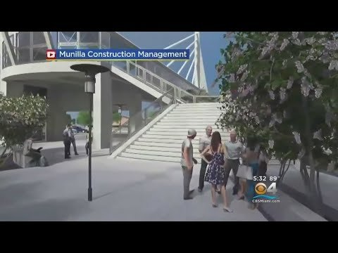 Pedestrian Bridge In The Works For FIU Students To Cross Busy 8th Street