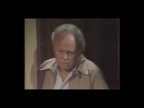 Archie cries over Edith's Death (Full Scene All in the Family)
