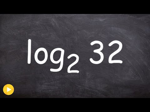 Evaluate a Logarithm Without a Calculator with Base 2