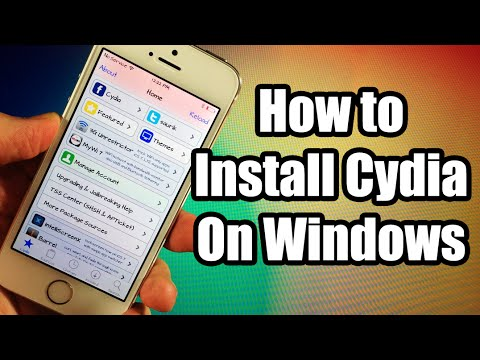 How to Install Cydia on Windows on iOS 8