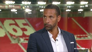 Rio Ferdinand says comparisons these days are disrespectful to former players