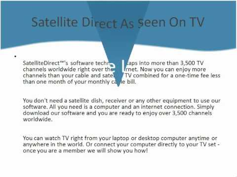 Watch Sky/Cable/Satellite TV On Your PC Over 3500+ Channels
