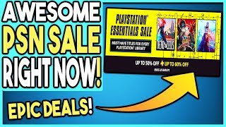 Download AWESOME PSN Sale Right NOW! EPIC DEALS! Video