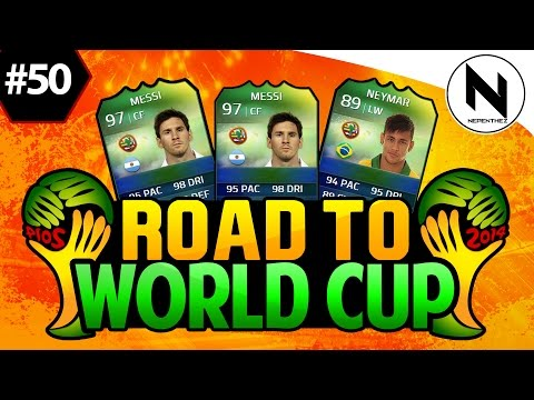 1,000 ITEMS! FIFA 14 Ultimate Team - Road to World Cup #50