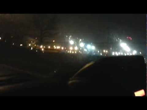 THE OUTSKIRTS OF HEATHROW AIRPORT AT NIGHT - 1